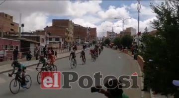 Así se corre la Vuelta a Potosí en Ciudad Satélite