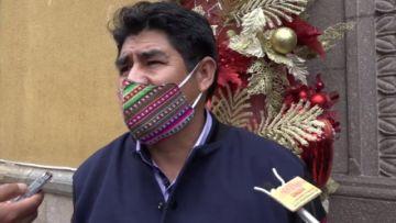 Gobernador de Potosí insta al uso del barbijo para evitar el rebrote del covid