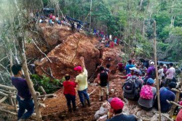 Nicaragua culmina rescate en derrumbe de mina tras extraer dos cuerpos