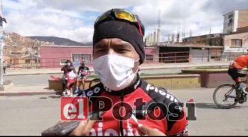 Juan Cotumba vuelve a la bici en competencia potosina