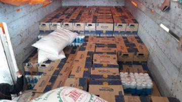 Interceptan camión que llevaba cerveza de contrabando con valor de $us10.000