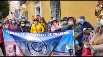 """Denuncian que operadores de turismo de otros Departamentos """"usurpan"""" el turismo deUyuni"""