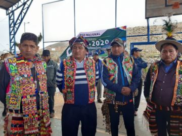 Médicos tradicionales de Cahuayo tienen nueva directiva