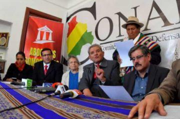 Miembros del Conade pide audiencia a la comisión de la CIDH