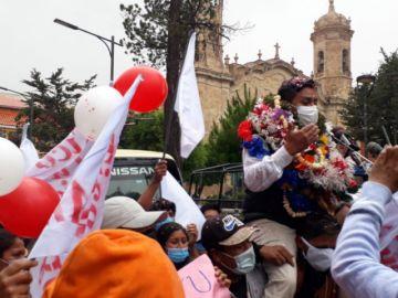 Simpatizantes proclaman a López como candidato a la Alcaldía de Potosí