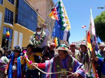 ¿Qué dice Edilberto Chambi, proclamado como candidato a la Gobernación por el MAS en Potosí?