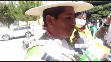 Ayllus guerreros anuncian bloqueo de caminos si no se habilita como candidato del MAS a Edilberto Chambi