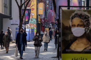 Hay más de 1.000 nuevos casos de coronavirus en Corea del Sur