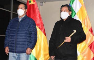 David Choquehuanca asume por primera vez las funciones de Presidente en Ejercicio