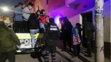 Intervienen fiesta supuestamente clandestina en Potosí