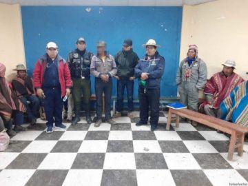 Pobladores del norte Potosí intentaron tomar la justicia en sus manos, la Defensoría rescató al acusado