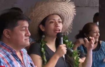 MAS proclama a Adriana Salvatierra candidata a alcaldía de Santa Cruz