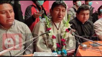 Candidato respaldado por Evo Morales afirma que es el aspirante oficial del MAS