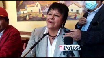 Presentan a Ruth Velasco como candidata a la Alcaldía de Potosí