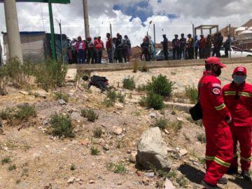 Trabajador sufre descarga eléctrica y fallece en la avenida Tinkuy