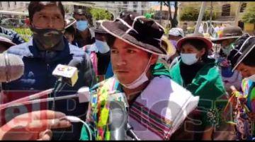 Dirigentes afirman que Jhonny Mamani es candidato y Evo Morales solo fue veedor