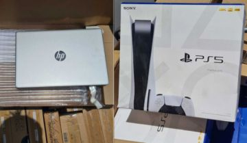 Decomisan contrabando de electrónicos, desde laptops hasta consolas Play Station 5