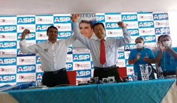 Chi es candidato a gobernador cruceño, de la mano de Roberto Fernández