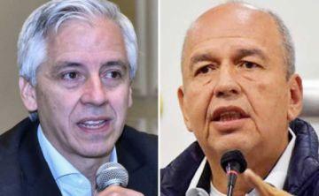 Así fue el enfrentamiento entre Álvaro García Linera y Arturo Murillo en redes sociales