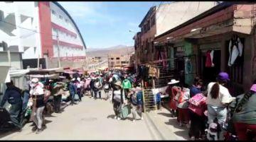 Vea cómo la gente no se cuida pese a que hay coronavirus en Potosí