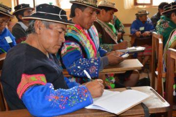 Por primera vez 13 organizaciones indígenas van con candidaturas propias a las elecciones