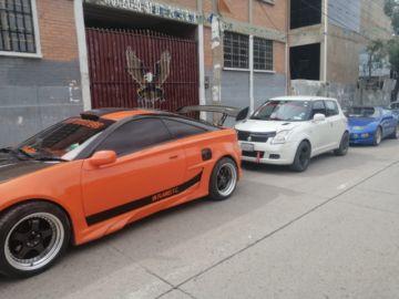 Se corre una nueva versión del Tuning Car en la Avenida Sevillla