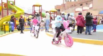 Alcaldía desarrolló actividad recreacional en el Parque Cultural Potosí