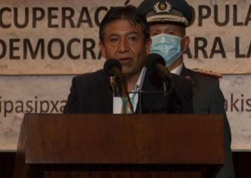"""Choquehuanca: """"El gobierno del pueblo no es un gobierno que abusa"""""""