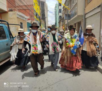 Oruro: Francisca Alvarado, la madre de Evaliz, quiere ser candidata a Gobernadora