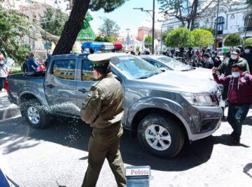 La Alcaldía entrega equipamiento a la Policía de Potosí