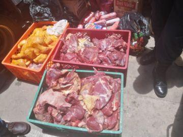 La Intendencia Municipal decomisa carne en pésimo estado