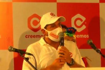 """Camacho es proclamado como candidato a gobernador: """"Necesitamos una Bolivia federal"""""""