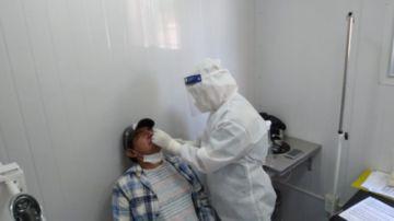 Castro: Las pruebas de antígeno nasal se aplicarán en hospitales de primer nivel