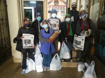 El Potosí entrega presentes a los distribuidores del diario