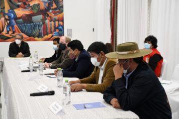 Gobierno y gobernadores coordinan acciones contra el coronavirus