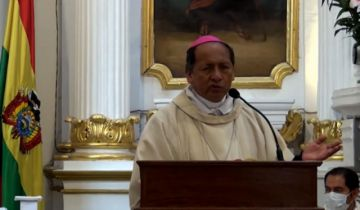 Monseñor Centellas advierte que la pobreza y desempleo crecen y urge a la solidaridad en Navidad
