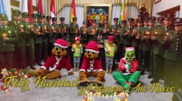 Policía en Potosí ratifica compromiso con la ciudadanía en mensaje navideño