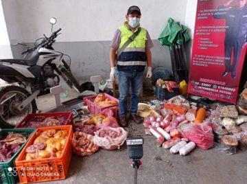Intendencia decomisa casi media tonelada de carne en mal estado en Potosí