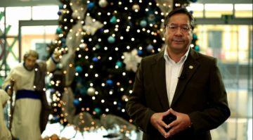 Este es el mensaje del presidente Luis Arce por Navidad