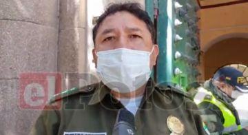 Policía en Potosí  conforma comité covid para atender a uniformados