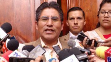 Félix Patzi confirma su repostulación a la Gobernacion paceña