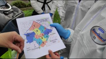 La Paz: Inicia el bloqueo epidemiológico en Sopocachi para detectar casos de Covid-19
