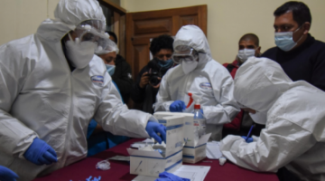 La Paz: hallan 19 casos de Covid-19 en el primer día del bloqueo epidemiológico en Sopocachi