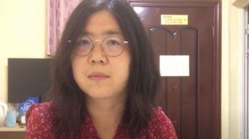 Condenan a una mujer china a cuatro años de cárcel por sus reportajes sobre el covid-19 en Wuhan