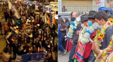 Tras pugnas y divisiones, partidos inscriben a sus candidatos para las subnacionales