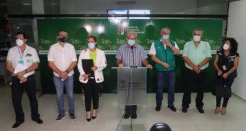 Santa Cruz: COED exige que Gobierno nacional cumpla sus compromisos para atender la emergencia del covid