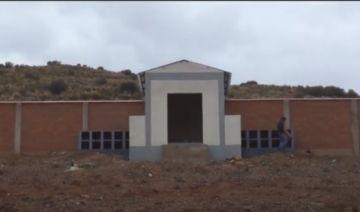 La Alcaldía entrega cementerio en el distrito rural 14 de Potosí