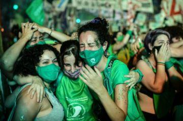 El Congreso de Argentina aprueba la legalización del aborto