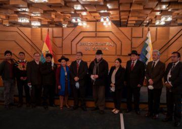 Los siete nuevos consejeros de la Fundación Cultural del Banco Central de Bolivia asumen sus cargos