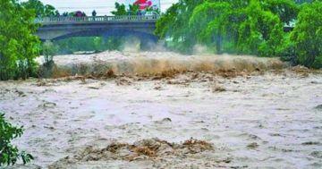 Senamhi emite aviso de alerta hidrológica con posibles desbordes de cinco cuencas